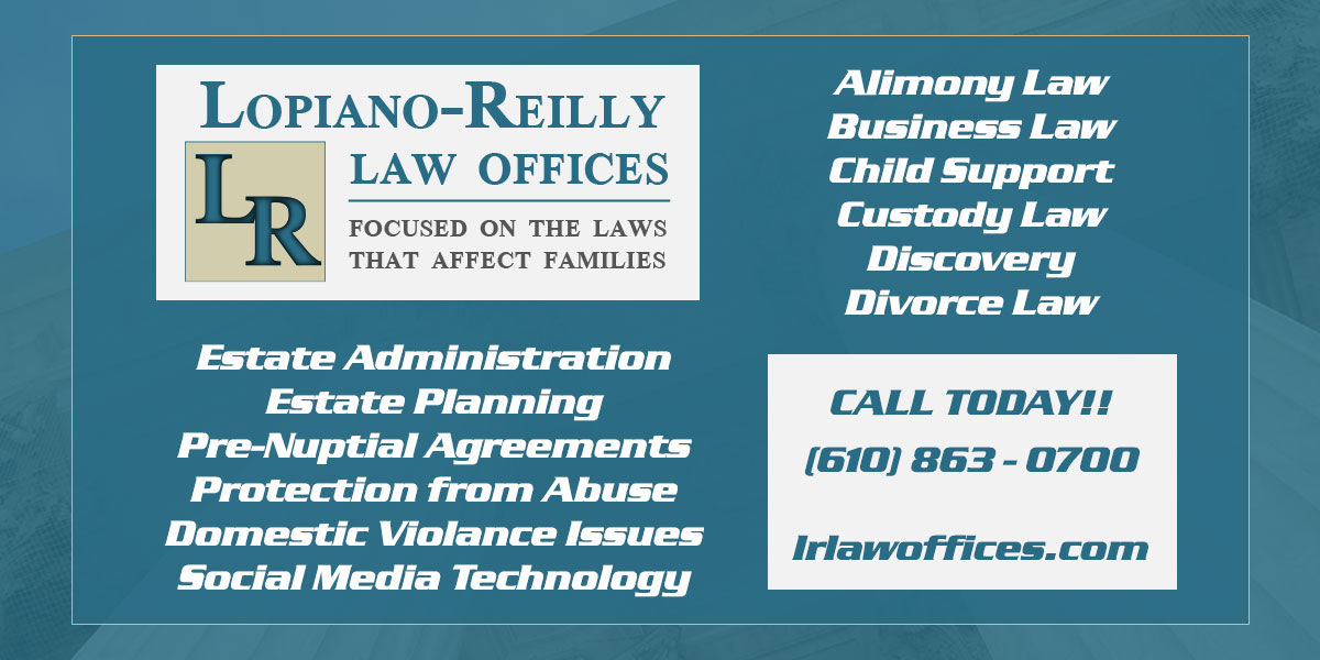 Discovery Family Law - Pen Argyl, PA - Lopiano-Reilly Law ...